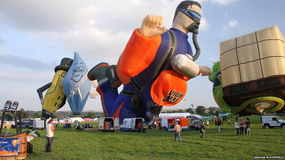 Bristol Balloon Fiesta Special Shapes The Special Shape Balloons at
