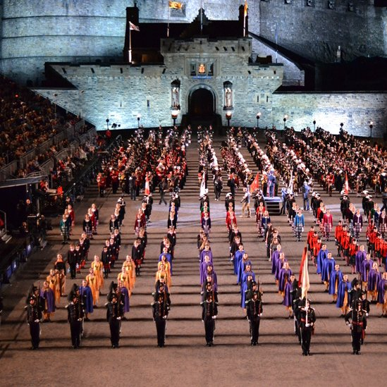 Your pictures of scotland 3 10 august bbc news for Royal military tattoo