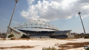 Athens Olympic beach volleyball stadium
