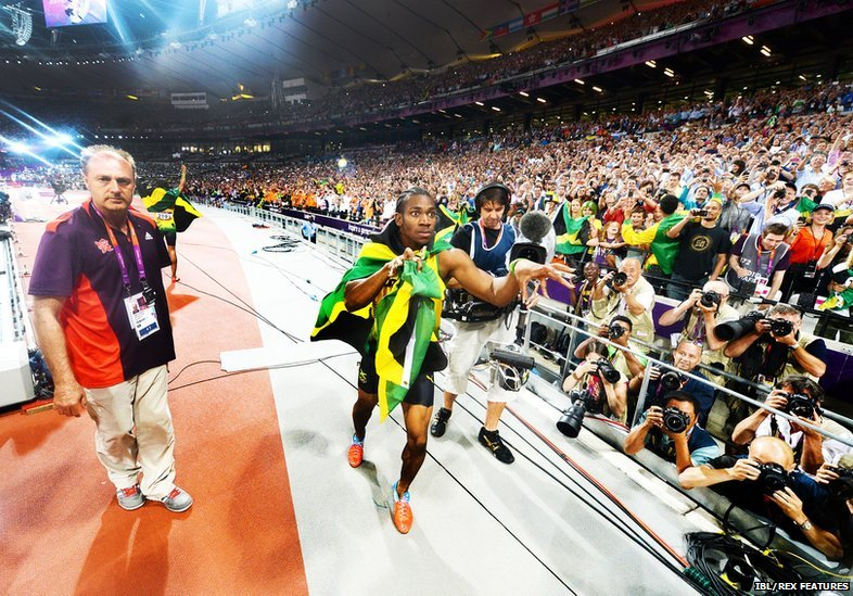 BBC News - In pictures: Usain Bolt behind the lens