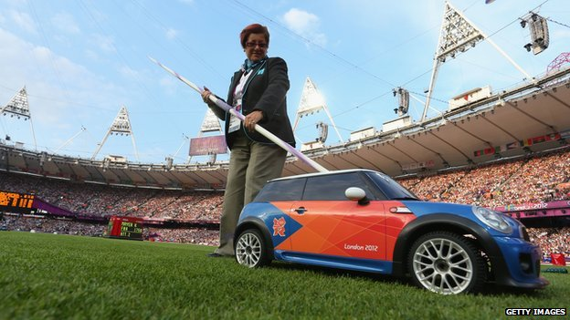 Remote control Mini at the Olympic Stadium