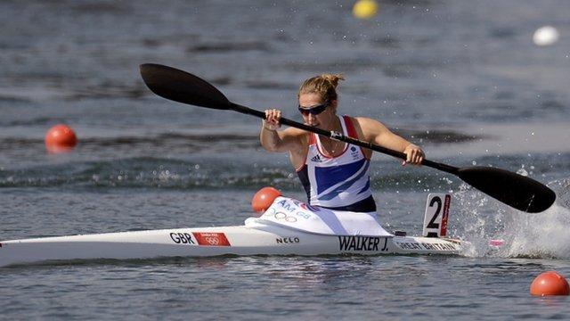 Great Britain's Jess Walker