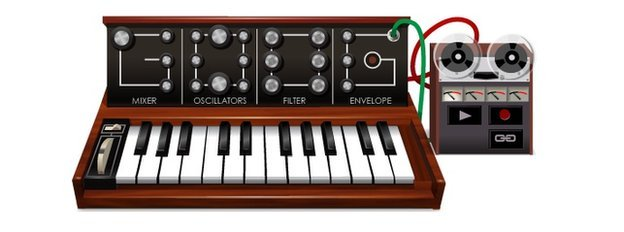 Moog Google doodle