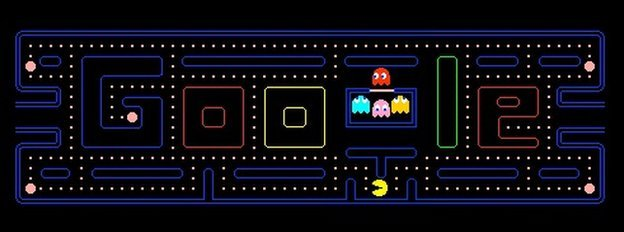 Pac Man Google doodle
