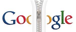 Google doodle zip logo