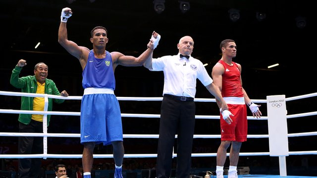 Ogogo defeated in semi-final