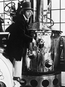 Gene Wilder in Willy Wonka and the Chocolate Factory