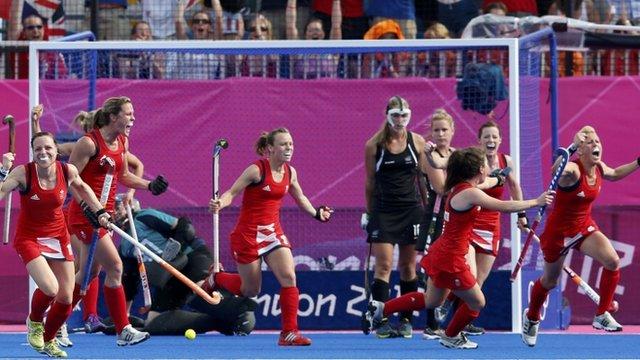 Great Britain's women's hockey team