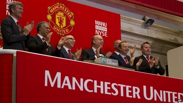 Manchester United have begun trading on the NYSE