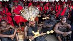 Traditional chiefs in Accra, Ghana