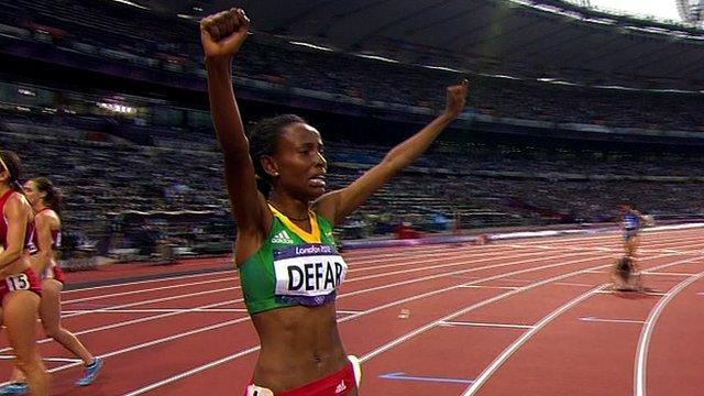 Ethiopia's Meseret Defar