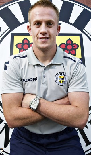 Adam joined St Mirren in the summer after leaving Rangers
