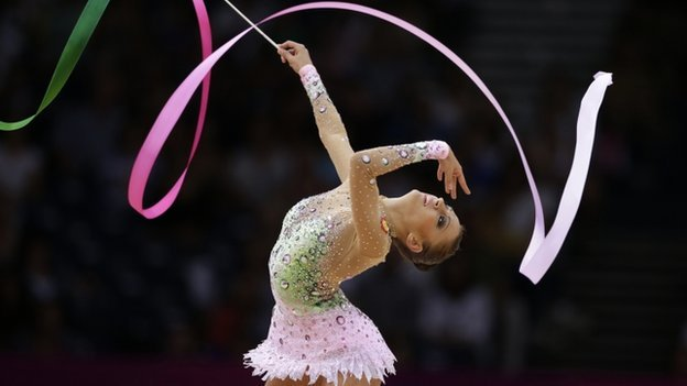 Russia's Evgeniya Kanaeva