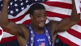 United States wrestler Jordan Burroughs