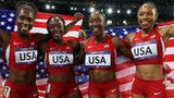 USA  4 x 100m women's relay