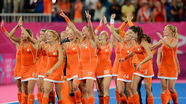 Dutch field hockey team gains worldwide attention