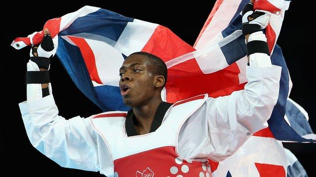 Britain's Lutalo Muhammad