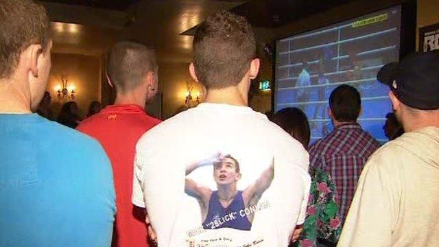 Michael Conlan fans
