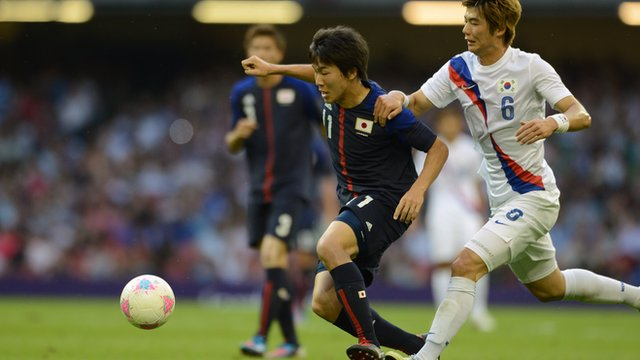 South Korea 2-0 Japan