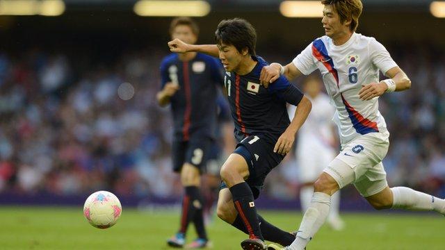 South Korea 2-0 Japan