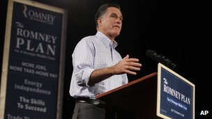 Mitt Romney speaks in Des Moines, Iowa (8 Aug 2012)
