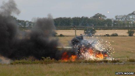 a74m van fire