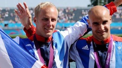 Liam Heat & Jon Schofield win bronze