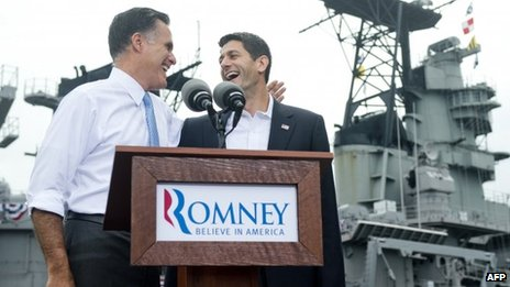 Mitt Romney announces Paul Ryan as his running mate