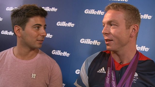 Watch Ricky's chat with Britain's greatest Olympian