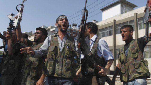 Members of Free Syrian Army