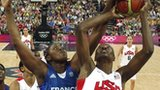 USA and France clash in the women's basketball final