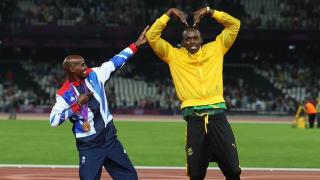 Mo Farah &amp; Usain Bolt