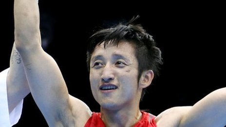 Boxing gold for China's Shiming