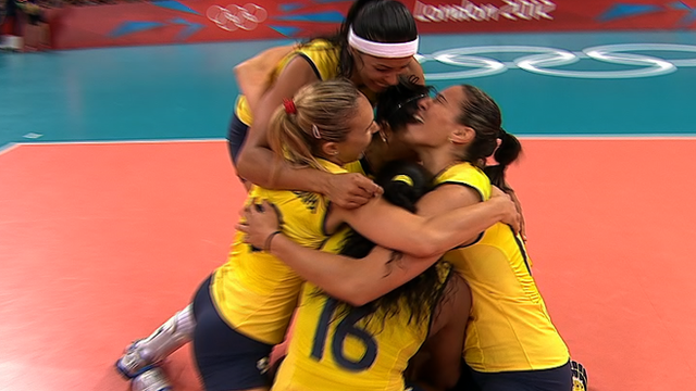 Brazil win gold medal