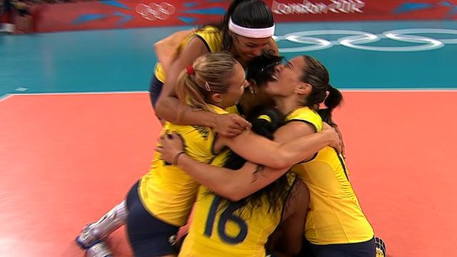 Brazil win gold medal