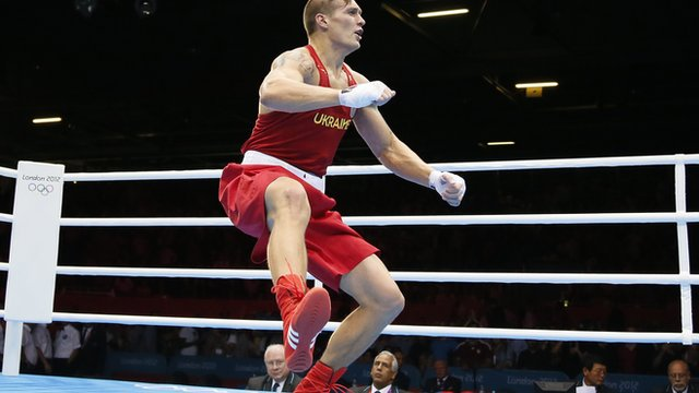 Oleksandr Usyk of Ukraine