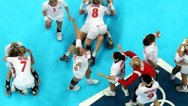 Norway celebrate handball gold