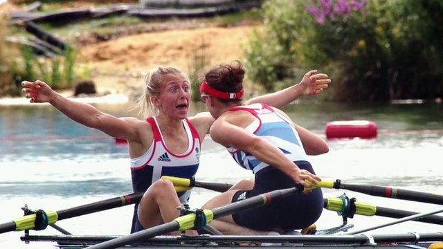 Great Britain's triumphant rowers