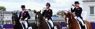 GB dressage team