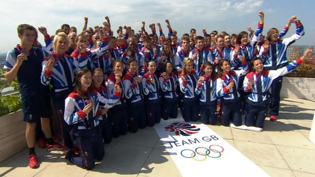 Team GB's medal winners
