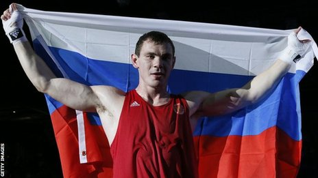 Olympic light heavyweight champion Egor Mekhontcev
