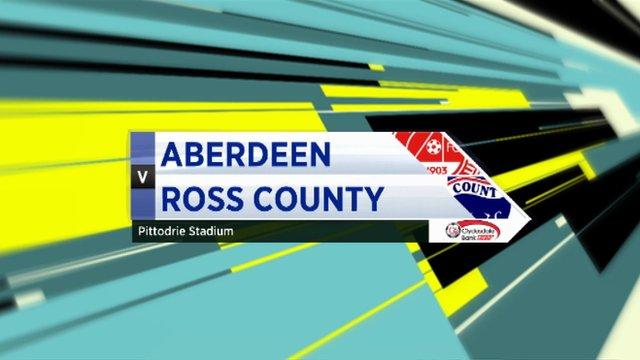 Highlights - Aberdeen 0-0 Ross County