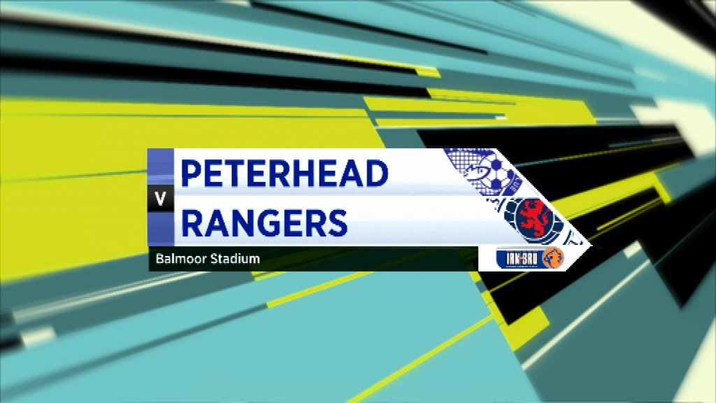Highlights - Peterhead 2-2 Rangers