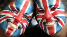 Team GB football fans