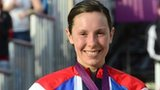 Samantha Murray picks up her mondern pentathton silver medal