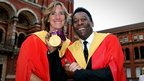 Katherine Grainger and Pele