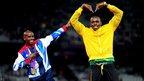 Mo Farah, Usain Bolt
