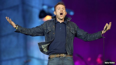 Damon Albarn from Blur