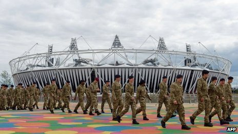 Armed Forces at the Olympic Park