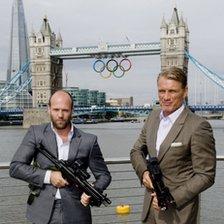 Jason Statham and Dolph Lundgren